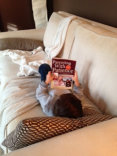 Child Reading pwp Book