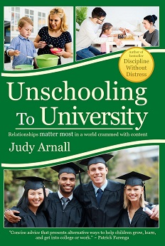 Unschooling to University Cover